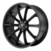 Lorenzo WL32 22X10.5 Satin Black