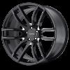 Lorenzo WL36 22X9 Gloss Black & Milled