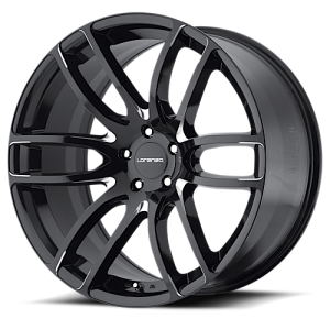 Lorenzo WL36 Gloss Black & Milled