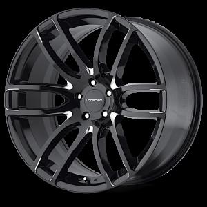 Lorenzo WL36 Gloss Black & Milled