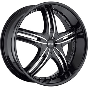 MKW Type 105 Black Wheel Packages