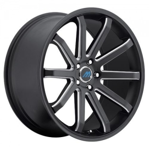 Mach M10 19X8.5 Satin Black Machined