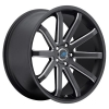 Mach M10 19X9.5 Satin Black Machined