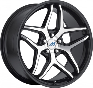 Mach M3 19X8.5 Satin Black