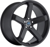 Mach M5 17X7.5 Satin Black