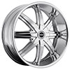 Strada Magia Chrome 22 X 8.5 Inch Wheels