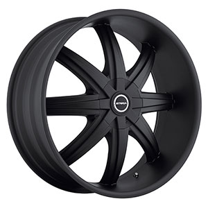 Strada Magia Stealth Black 24 X 9.5 Inch Wheels