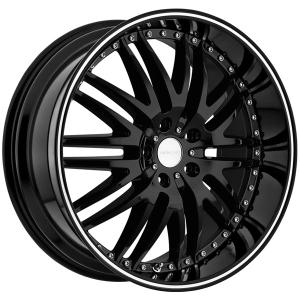 Menzari M-Sport Z04 22X8.5 Black