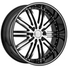 Menzari VIM Z08 Black Machined Wheel Packages