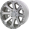 Vision 159 Outback Machined Clear Coat 14 X 8 Inch Wheels