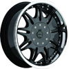 Milanni Style 331 Ambrosia Black: 20 x 9