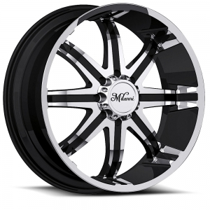 Milanni 446 Kool Whip 8 Gloss Black with Machine Face and Lip
