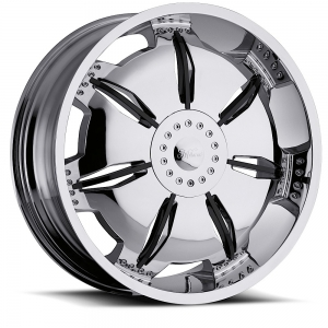 Milanni 455 Paralyzer Chrome with Gloss Black Insert