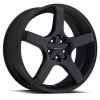 Milanni  464 VK-1 20X8.5 Satin Black