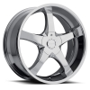 Milanni  465 Vengeance 24X9.5 Chrome