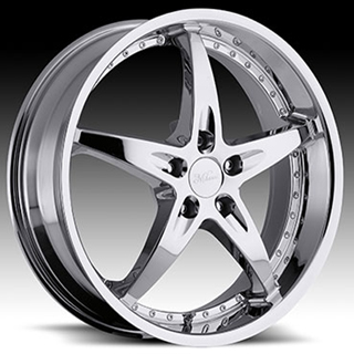 Milanni ZS 1 Type 453 Chrome Wheel Packages