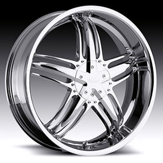 Milanni Force Type 457 Chrome Wheel Packages