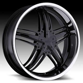 Milanni Force Type 457 Gloss SS Lip Wheel Packages