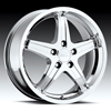 Milanni Kool Whip 5 446 Chrome 15 X 6.5 Inch Wheels