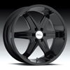 Milanni Kool Whip 6 Black 26 X 9.5 Inch Wheels