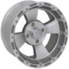 Vision 161 Bruiser Machined Clear Coat 12 X 7 Inch Wheels