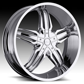 Milanni Phoenix Type 458 Chrome Wheel Packages