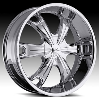 Milanni Stellar Type 452 Chrome Wheel Packages
