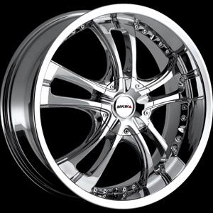 MKW Type 101 Chrome 16 X 7 Inch Wheel