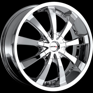 MKW Type 102 Chrome 16 X 7 Inch Wheel