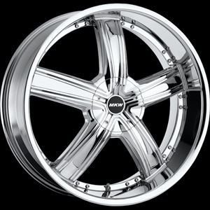 MKW Type 103 Chrome Wheel Packages