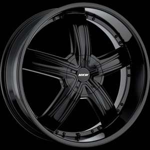 MKW Type 103 Black Wheel Packages