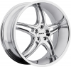 MKW M113 (5 Spokes) Chrome