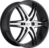 MKW M113 (6 Spokes) Black Machined