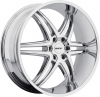 MKW M113 (6 Spokes) 24X9.5 Chrome