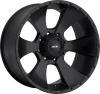 MKW M19 18X9 Satin Black