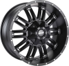 MKW M80 17X9 Satin Black