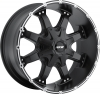 MKW M83 16X8 Satin Black