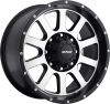 MKW M86  Satin Black Machined Face Black Lip