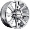 MKW M87 18X9 Chrome