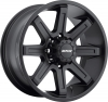 MKW M88 17X9 Satin Black