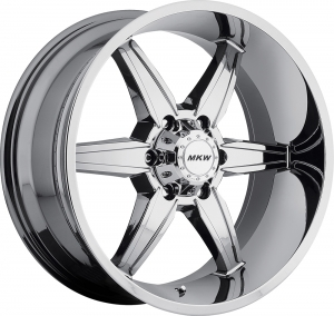 MKW M89 (6 Spokes) Chrome