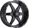 MKW M89 (6 Spokes) 17X9 Satin Black