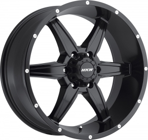 MKW M89 (6 Spokes) Satin Black