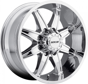 MKW M89 (8 Spokes) 16X8 Chrome