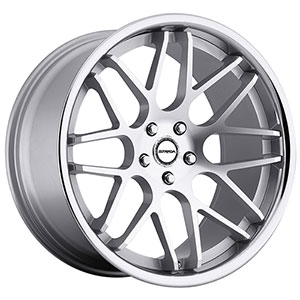 Strada Moda Silver with Machined Face Wheel Packages