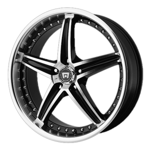 Motegi MR107 16X7 Gloss Black Machined