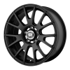 Motegi MR118 17X8 High Temp Matte Black Coated