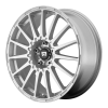 Motegi MR119 Rally Cross S 18X8 Bright Silver With Clearcoat