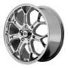 Motegi MR120 Techno Mesh S 17X8.5 Chrome Plated