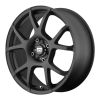 Motegi MR121 16X7 Satin Black